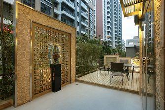 140平米三室一厅中式风格阳光房装修效果图