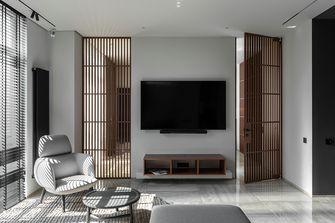 60平米公寓英伦风格客厅设计图