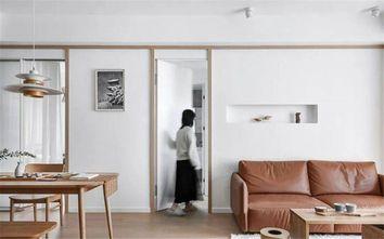 100平米三日式风格走廊图片大全