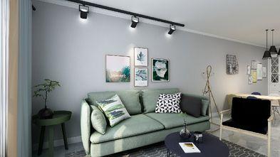 100平米三室三厅北欧风格客厅效果图