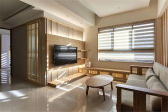 90平米三室两厅日式风格客厅装修案例