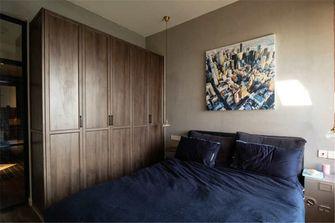 70平米英伦风格卧室图