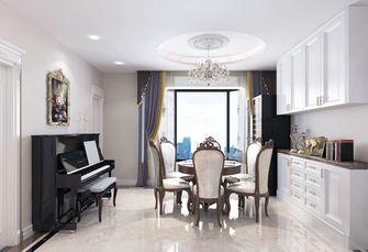 140平米三室两厅法式风格餐厅图片大全