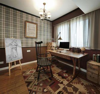 110平米三室两厅地中海风格书房图