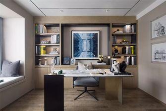 90平米三室三厅现代简约风格书房装修图片大全