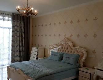 140平米四室一厅北欧风格卧室图片大全