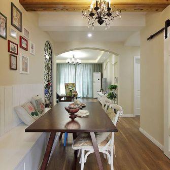 130平米四室一厅地中海风格餐厅图