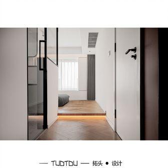 20万以上90平米三室一厅现代简约风格走廊装修案例