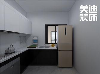80平米中式风格厨房图