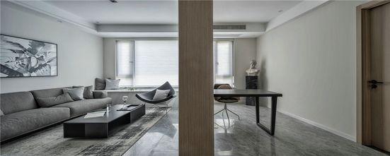 140平米三室两厅混搭风格书房图