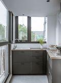 70平米公寓混搭风格厨房图片大全