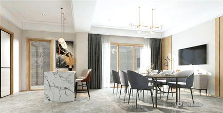 140平米别墅现代简约风格餐厅装修效果图