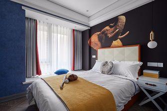 80平米三室两厅法式风格卧室装修图片大全