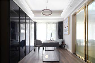 140平米复式美式风格书房装修案例