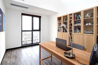 90平米复式北欧风格书房橱柜图片