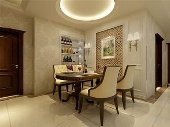 富裕型130平米四室四厅欧式风格餐厅图