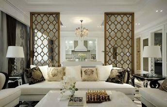 120平米四室两厅新古典风格客厅图片大全