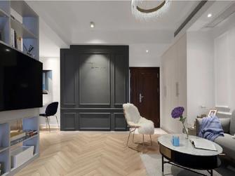 80平米法式风格客厅装修效果图