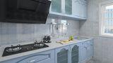 90平米地中海风格厨房装修效果图