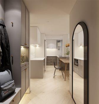 80平米三室一厅法式风格玄关欣赏图