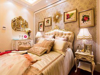 110平米三室一厅欧式风格卧室图片