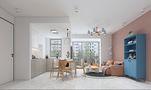 50平米一室一厅北欧风格客厅设计图