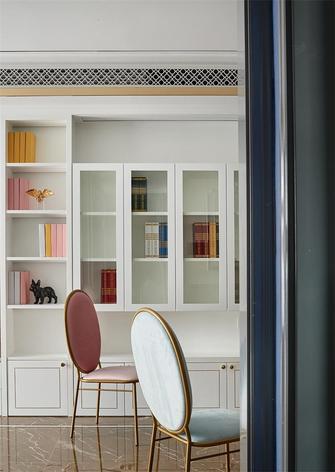 80平米三法式风格书房图