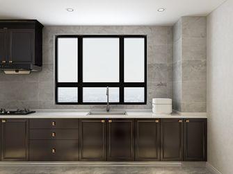 100平米三室一厅北欧风格厨房欣赏图