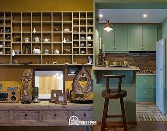 60平米一室一厅东南亚风格餐厅图片大全