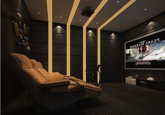140平米四室两厅英伦风格影音室图片