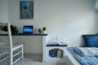 70平米复式地中海风格卧室图