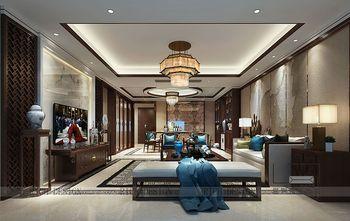 140平米四室两厅中式风格客厅装修图片大全