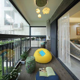 110平米三室一厅其他风格阳台图片