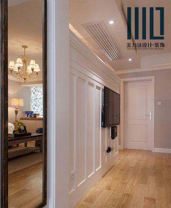 80平米一居室新古典风格玄关装修案例