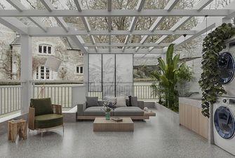 140平米三室两厅日式风格阳光房装修效果图