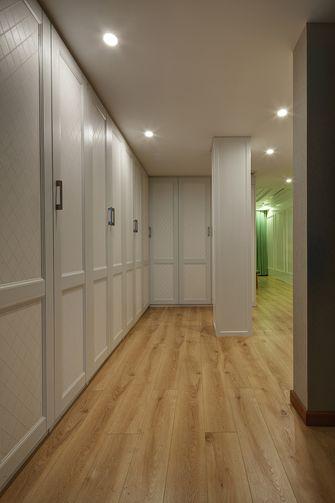 140平米三室一厅混搭风格衣帽间图