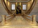 豪华型140平米别墅法式风格楼梯效果图