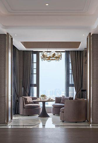 140平米三室两厅法式风格阳台设计图