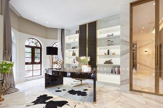 20万以上140平米别墅现代简约风格书房欣赏图