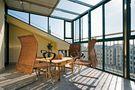 140平米复式东南亚风格阳台设计图