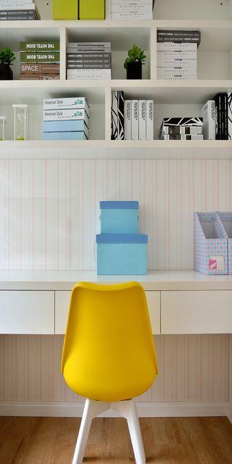 5-10万100平米三室两厅地中海风格书房装修效果图