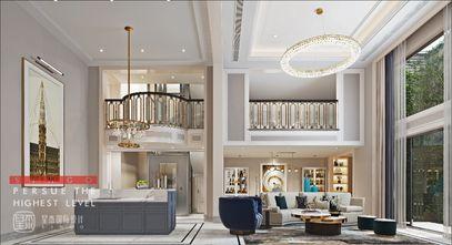 140平米别墅美式风格客厅设计图