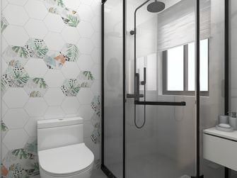 90平米三室两厅现代简约风格卫生间图片大全