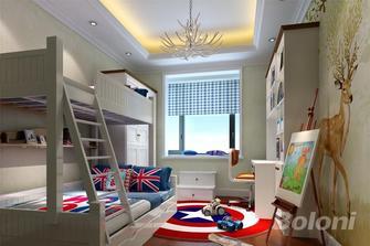 140平米三室两厅欧式风格儿童房图