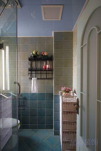 富裕型140平米四室一厅田园风格卫生间装修案例