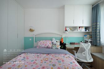 100平米三室两厅日式风格儿童房效果图