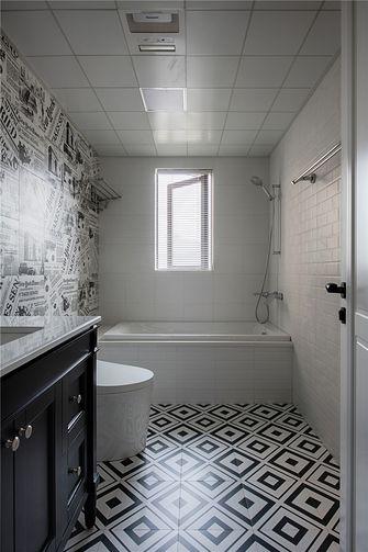 140平米四室一厅美式风格卫生间设计图