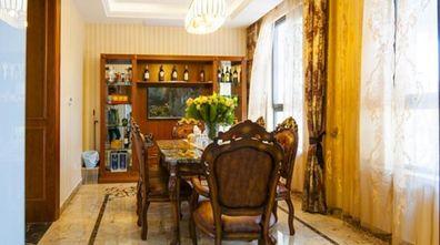 富裕型140平米四室五厅现代简约风格餐厅欣赏图