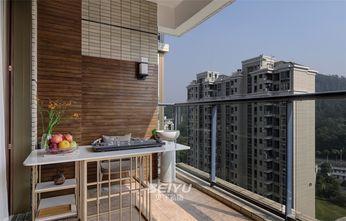 140平米四室两厅现代简约风格阳台图片