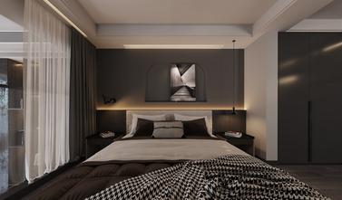 90平米复式混搭风格卧室图